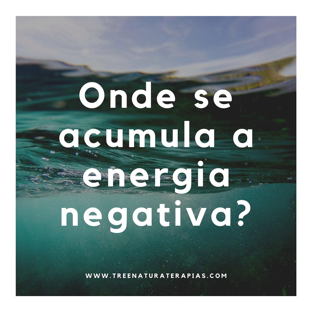 Onde se acumula a energia negativa